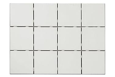 Klinker Soft Hvidt Mat 10X10