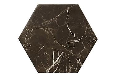 Klinker Hexagon Carrara Black 20X23