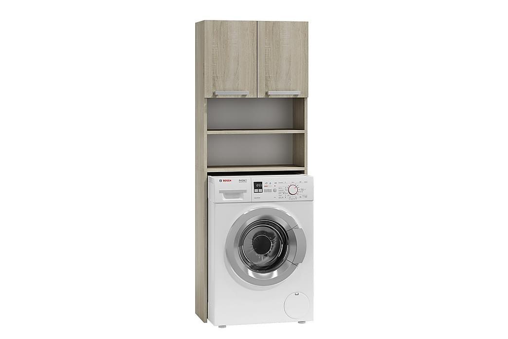 Pola Badeværelsesskab 64x30x183 cm - Badeværelse - Badeværelsesmøbler - Vægskabe & højskabe
