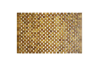 Bademåtte Akacietræ 80 X 50 Cm Mosaik