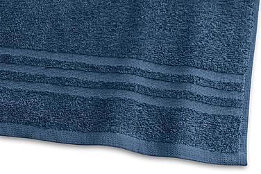 Basic Frotté 30x50 cm Marinblå