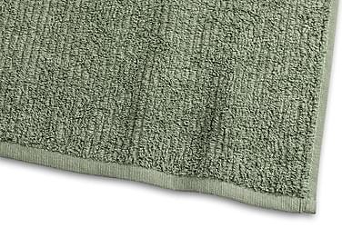 Stripe Frotté 30x50 cm Grøn