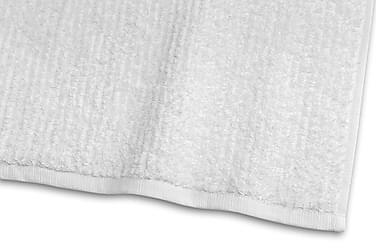 Stripe Frotté 30x50 cm Hvid