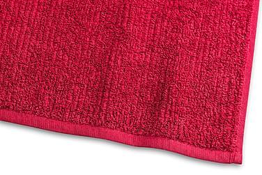 Stripe Frotté 30x50 cm Rød
