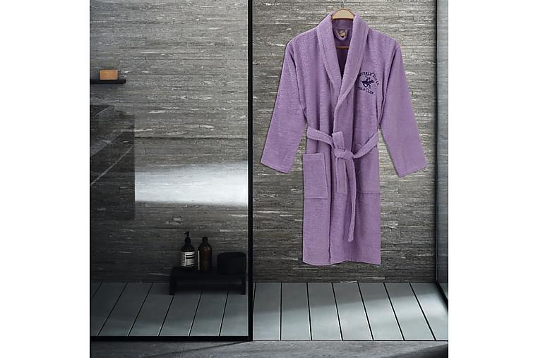 Beverly Hills Polo Club Badekåbe S/M - Lilla - Boligtilbehør - Tekstiler - Badeværelsestekstiler