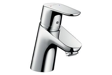 HG Focus 70 Håndvaskarmatur uden Løft-Op stang Forkromet
