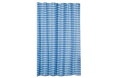 Bruseforhæng Zigzag 180x200 cm
