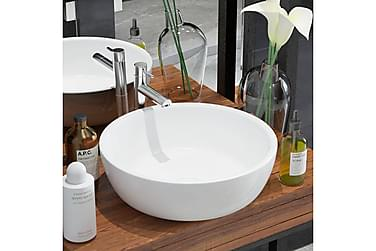 Håndvask Rund Keramik 42X12 Cm Hvid
