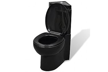 Wc Keramisk Toilet Sort