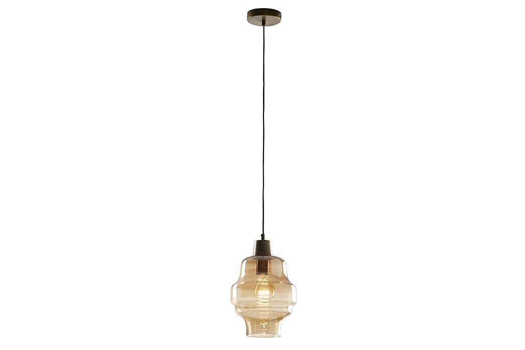 Clemen Taglampe Glas 23/23 cm - Orange - Belysning - Lamper - Loftlampe