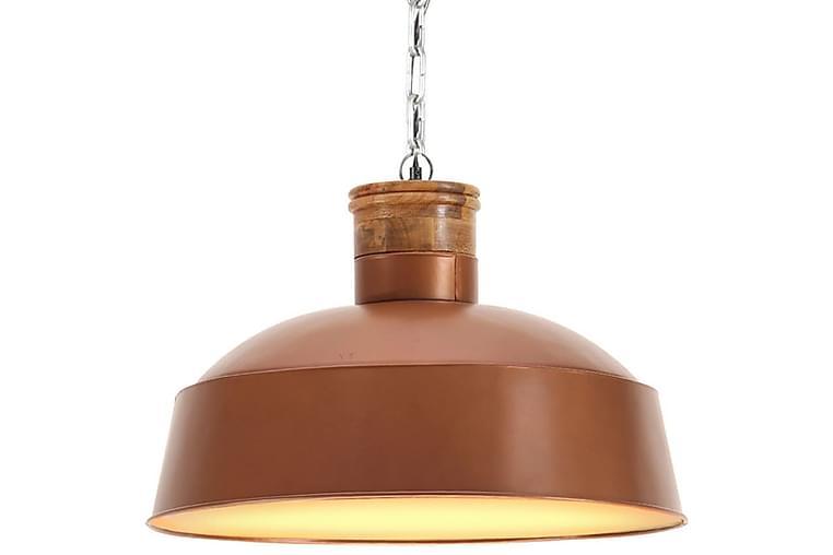 Industriel Hængelampe 58 cm E27 Kobberfarvet - Guld - Belysning - Lamper - Loftlampe
