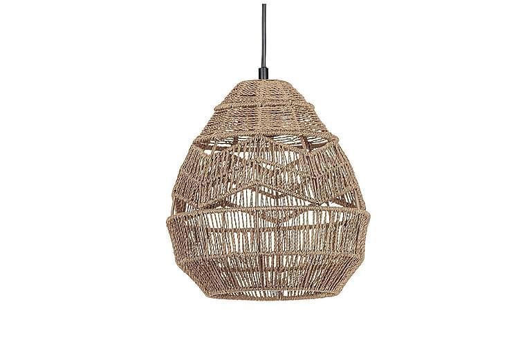 Minlaton hængelampe 25 cm Rund - Papir / Beige - Belysning - Lamper - Loftlampe