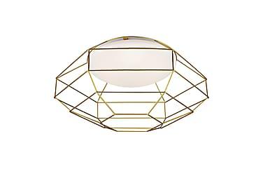 Nest Plafond Hvid/Guld