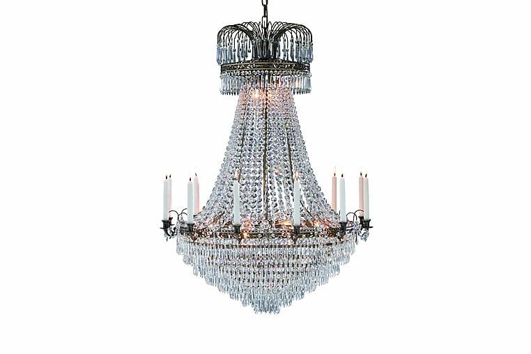 LÄCKÖ Lysekrone 15L Antik/Brilliant - Loftkrone - Belysning - Lamper - Lysekroner