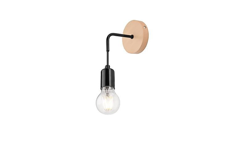 Delilah Væglampe - Sort/Natur - Belysning - Lamper - Væglampe