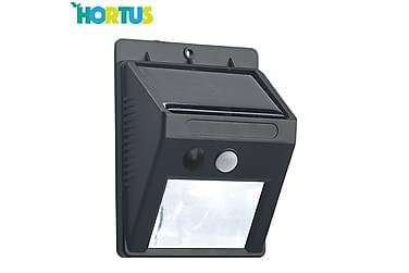 NSH Hortus solcellelampe med sensor 2-pakning 16 SMD