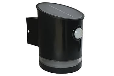 NSH Hortus solcellelampe med sensor 2 SMD