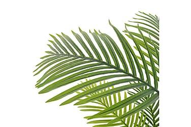 Kunstig Palmeplante Med Potte 120 Cm Grøn