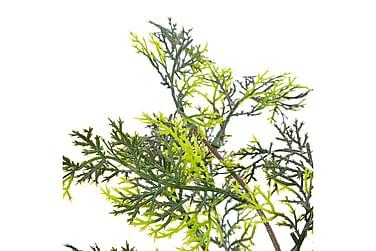 Kunstig Plante Cyprestræ Med Urtepotte Grøn 90 Cm
