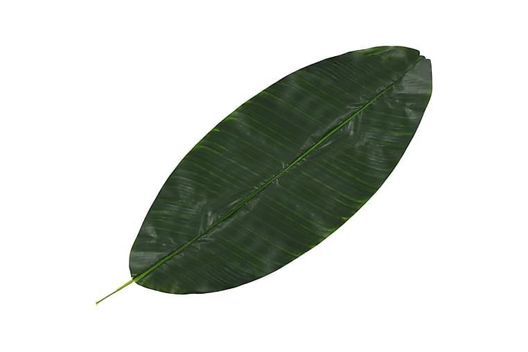 Kunstige Bananblade 5 Stk. 80 Cm Grøn - Grøn - Boligtilbehør - Dekoration - Kunstige planter