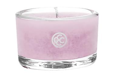 Duftlys Glas Tealight Pink Cherry Bloss