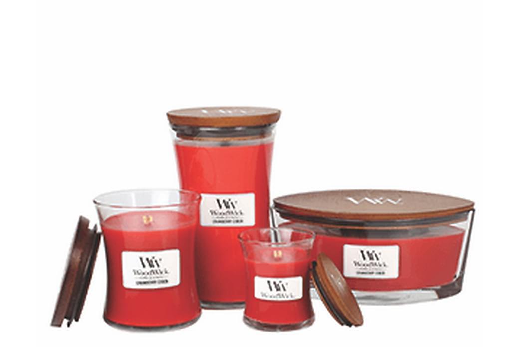 WoodWick Medium - Cranberry Cider - Boligtilbehør - Dekoration - Duftlys & rumdufte
