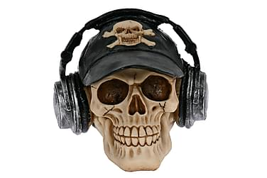 Jareth Dekoration Kranium Høretelefoner