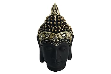 Sumati Dekoration Buddha Hoved 15x27 cm