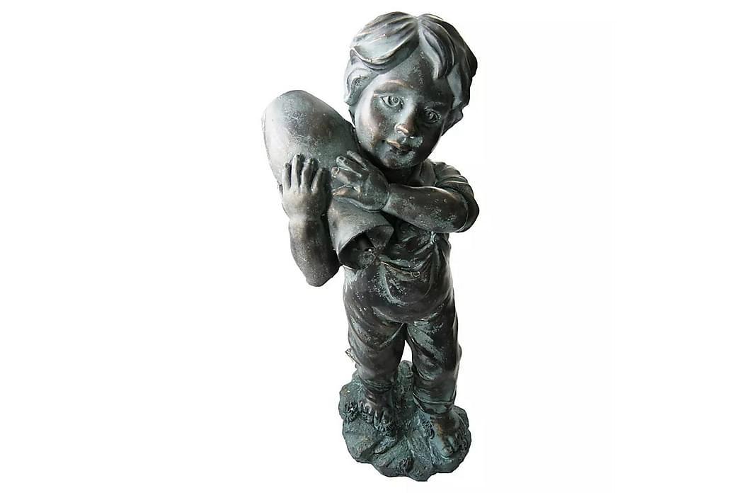Ubbink vanddekoration Yannick 48 cm 1386053 - Grøn - Boligtilbehør - Dekoration - Pynteting