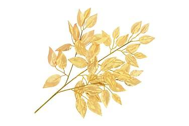 Kunstige Figenblade 10 Stk. 65 Cm Guldfarvet