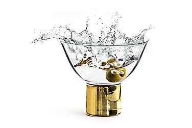 Club cocktail-/dessertglas guld 2-pak