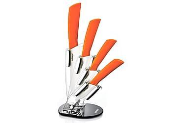 Noble Life Knivsæt 5 dele keramik