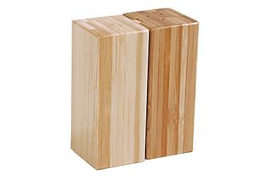 Kosova salt og peber sæt 10 cm bambus