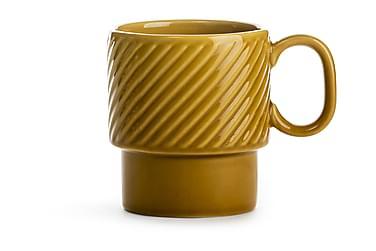 Coffee & More kaffekop gul
