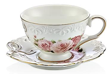 Noble Life Tesæt 12 dele porcelæn
