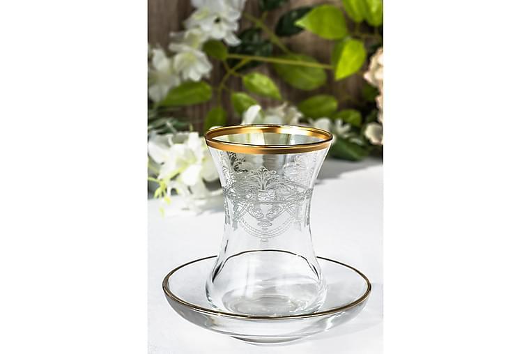 Noble Life Teservice 12 stk Glass