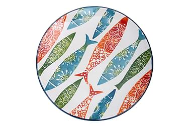 Kosova Dessertfad 6-stk 21 cm keramik