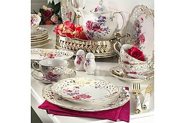 Kütahya morgenmadssæt 38 dele porcelæn
