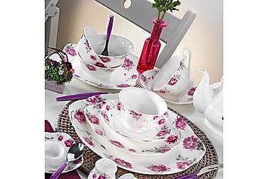 Kütahya morgenmadssæt 44 dele porcelæn