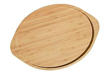 Kosova serveringsfad Oval bambus