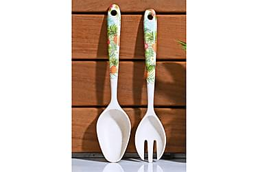 Kosova Salatbestik 2 dele 24 cm Bambusfiber