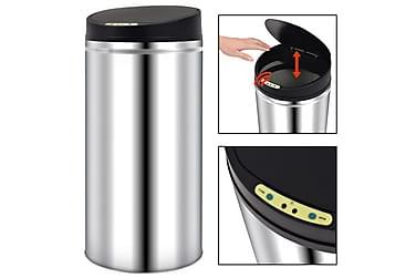 Skraldespand Med Automatisk Sensor 52 L Rustfrit Stål