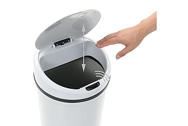 Skraldespand Med Sensor 42 L Hvid