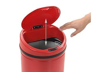 Skraldespand Med Sensor 62 L Rød