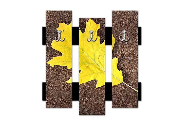 Chepets Tøjkroge 55x59 cm - Flerfarvet - Boligtilbehør - Knagerække & tøjstativ - Knagerækker