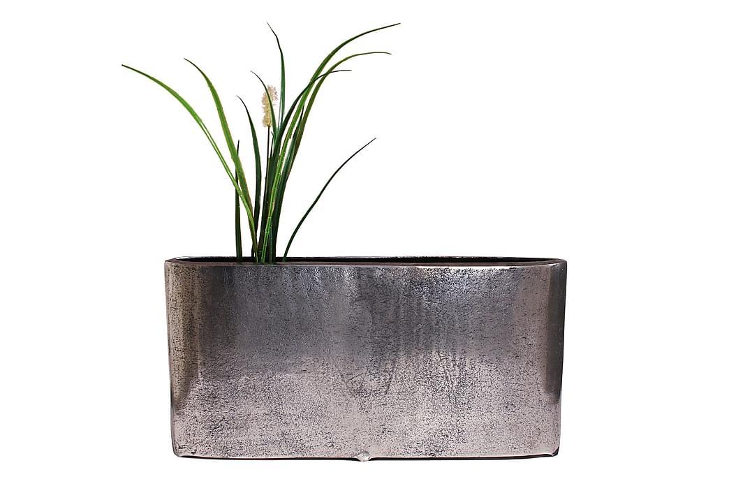 Vase 7x54 cm Antik Sølv - AG Home - Boligtilbehør - Krukker & vaser - Vaser