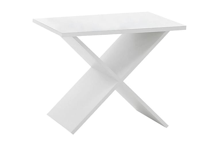 Hiromi Sidebord 55 cm - Hvid - Boligtilbehør - Små møbler - Bakkebord & små borde