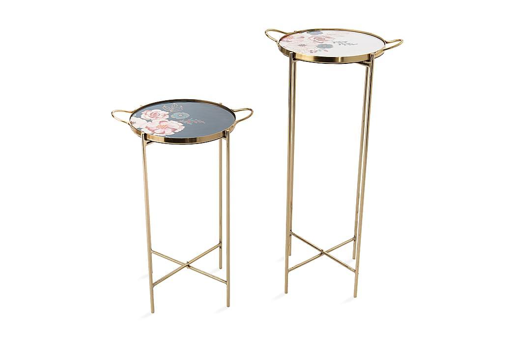 Vickersrudstorp Sidebord - Guld - Boligtilbehør - Små møbler - Bakkebord & små borde