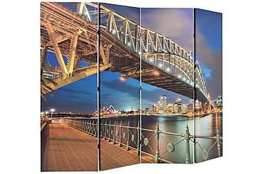 Foldbar Rumdeler 160 X 170 Cm Sydney Harbour Bridge