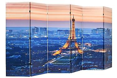 Foldbar Rumdeler 228 X 170 Cm Paris By Night